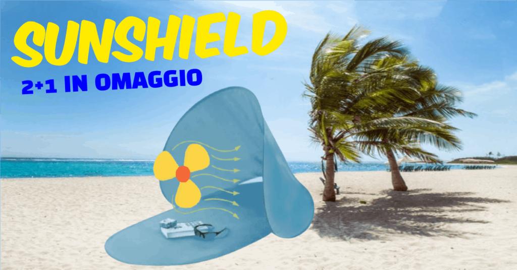tenda parasole da spiaggia