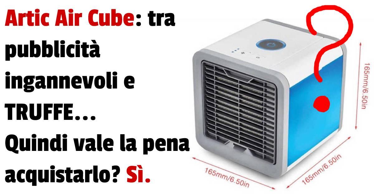 artic air cube diversi reclami?