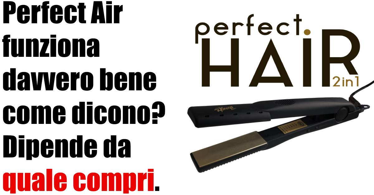 piastra perfect air 2 in 1