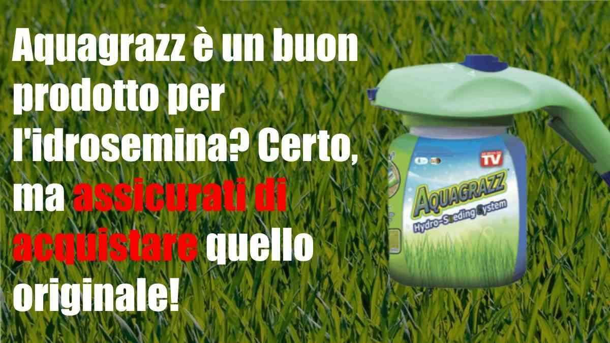 Miglior prodotto per l'idrosemina: Aquagrazz